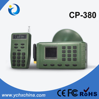 Duck Hunting Equipment 10W 123dB Hunting Bird mp3 speaker player 380 bird caller with remote control hunting product cp-380