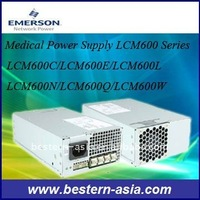 600W Emerson 48V ac dc Medical Power Supply LCM600W
