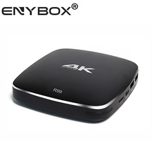 ENYBOX EKBR99 Rockchip RK3399 2+4 Hexa Core 64bit TV BOX Android 6.0 4G/32G AC WIFI 1000M LAN Type C Bluetooth