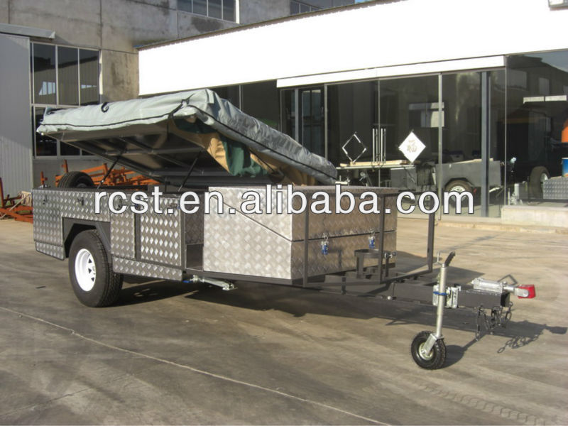 New off road large extended folding camping trailer
