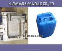China custom oil drum plastic bottle water barrel blowing mould
