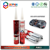 White glue for metal sealing/polyurethane adhesive/galvanized corrugated steel sheet sealant