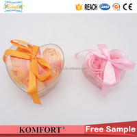 Bath and beauty soap with rose shape, imported famous bath soaps