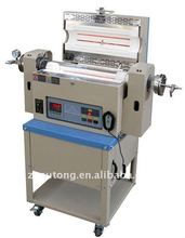 1200 C Electric rotary calcining tube furnace used in Laboratory