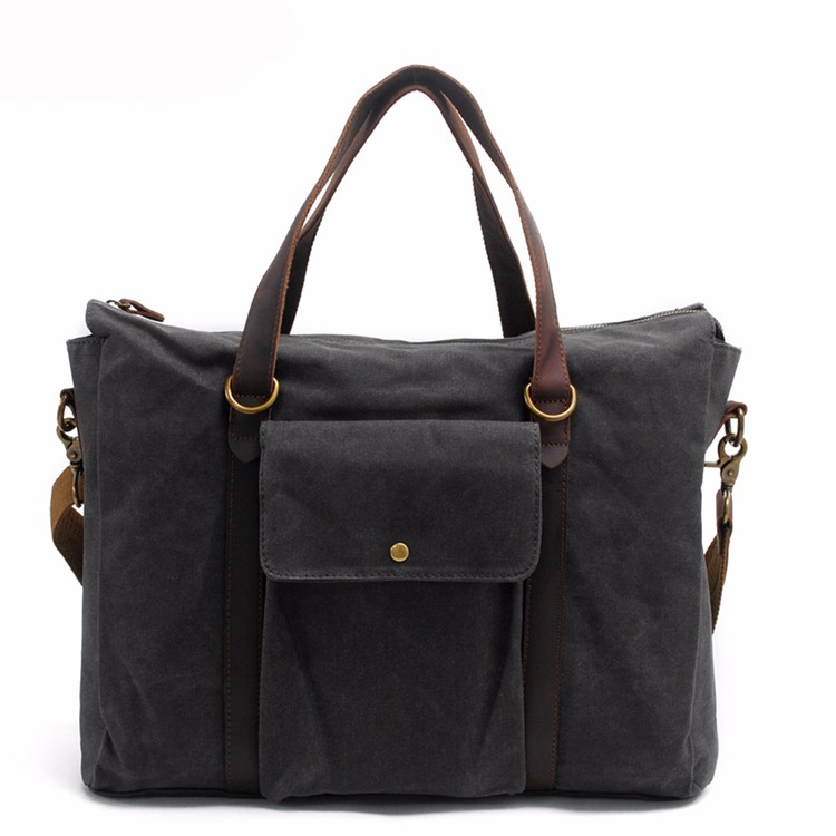 Wholesale Price Canvas Laptop Handbag China