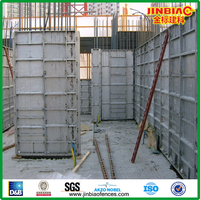 insulated sandwich panel aluminum formwork system