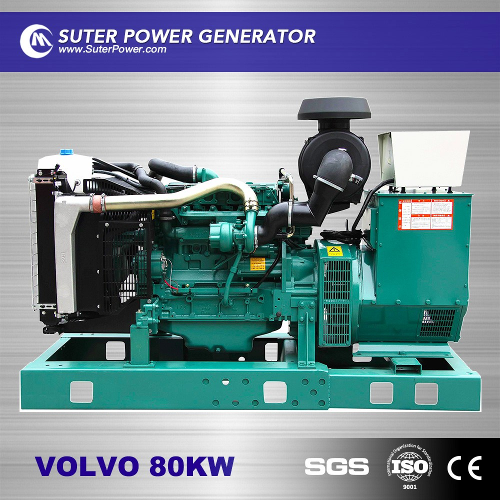 Sweden suppliers volvo generator 80kw diesel engine