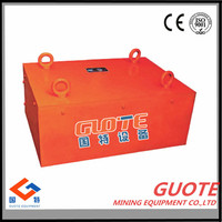 Iso 9001 Permanent Magnet Iron Ore mineral separator For food processing