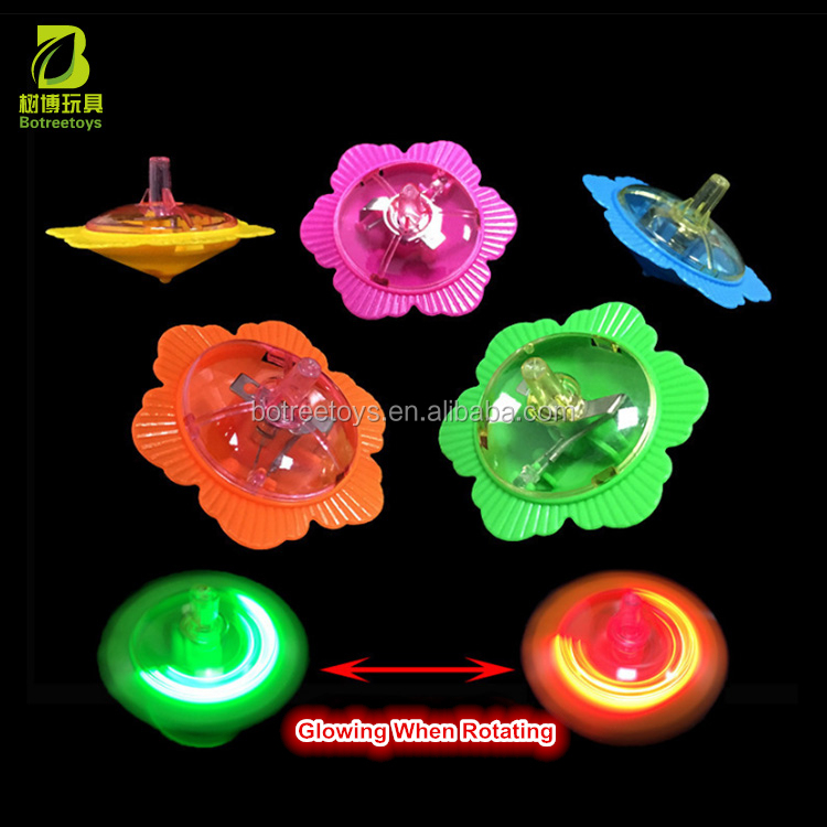 Funny Rotate the Glowing Top Spinning Promotional Toys for Kids