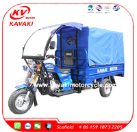 200CC China Three Wheel Motorcycle Passenger Enclosed Cabin 3 Wheel Motorcycle
