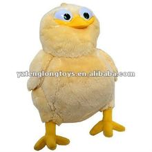 Promotion stuffed toy Plush yellow chicken toy