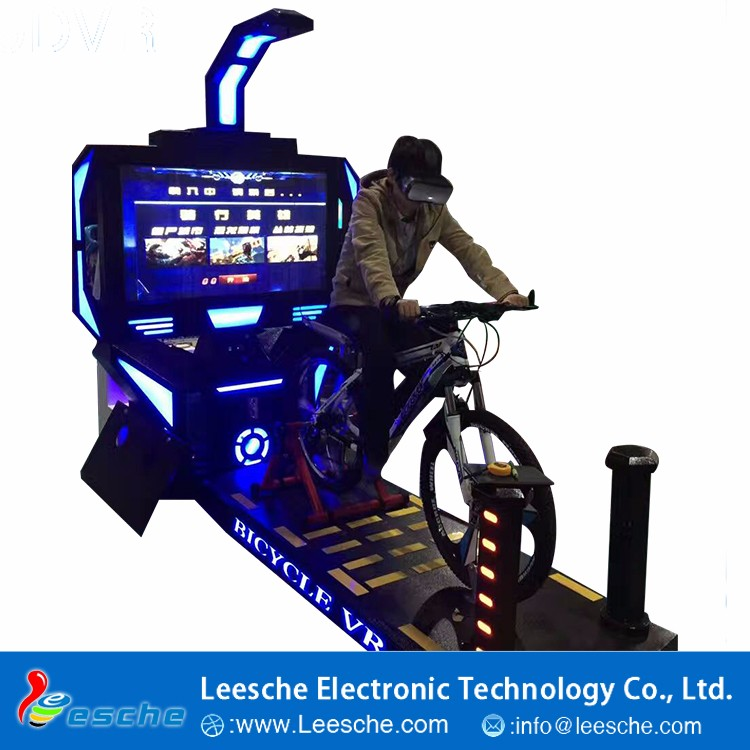 Sport Games 9D VR Bike Racing riding Feel The Rush thrill game machines VR bike