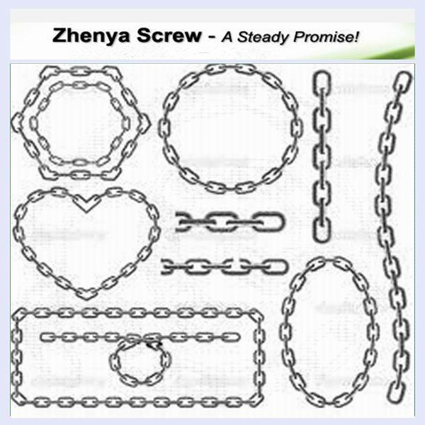 Chinese manufacture stainless steel chain links