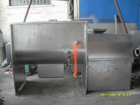 pharmaceutical industrial horizontal double ribbon mixer