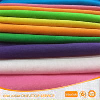 Manufacture supply 32s 180gsm 100% cotton knitted fabric for t-shirt