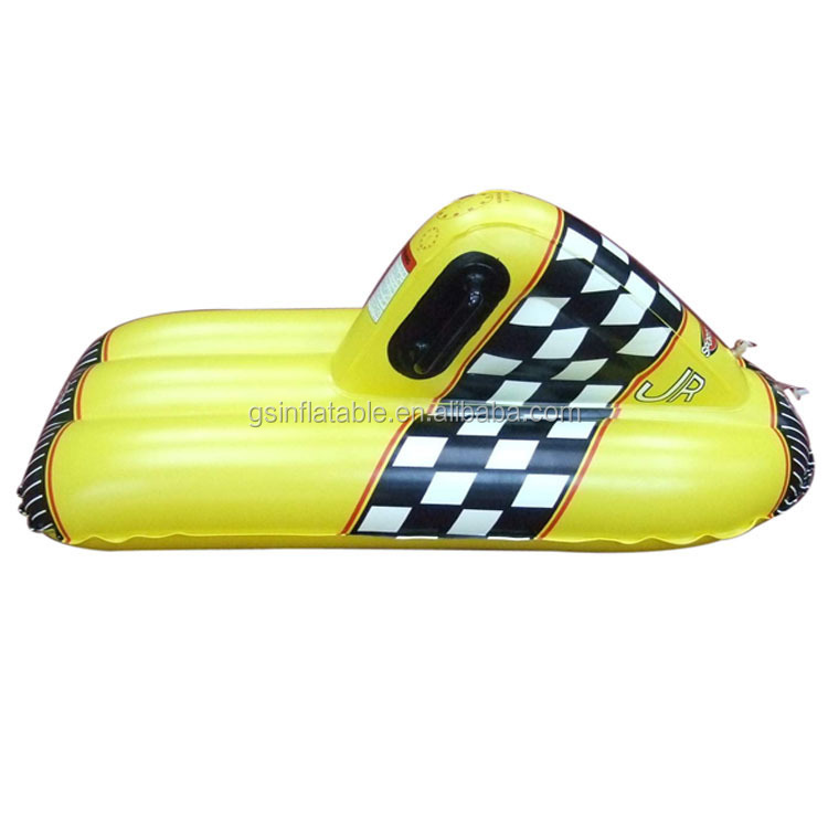 Customized plastic skiing equipment inflatable snow sled