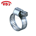 Stainless steel mini type pipe hose clamp for auto spare parts car and home pipeline