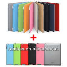 For iPad Air 5 4 Folding Smart Cover Slim Magnetic Smart Cover PC Back Case Stand