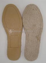 GCES001 suela del zapato para comprar para alpargata de yute