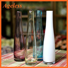 2015 New Style High quality different types glass vase wholesale