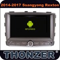 7 inch Android 6.0 CAR DVD Player for 2014~2017 SSANGYONG Rexton