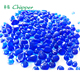 Cobalt blue colored decorative glass seed beads for wall decoration