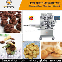 SY-800 automatic pastry filled cookies manufacturing machine