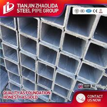 Factory directly sales hot dipped galvanized square pipe/ gi steel tube good quality goods in china factory for construction