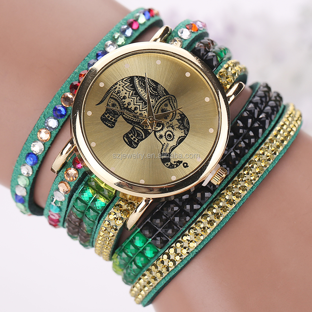 Custom-Made Ladies Stylish Watches With Leather Strap New Design Fashion Girls Watch