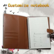Wholesale Cheap Cute Chipboard Cover Spiral Notebook