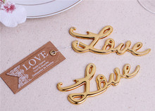 NEW ARRIVAL+Best Quality Chrome Love Bottle Opener <strong>Wedding</strong> & Bridal Shower Favors and Gift For Guest