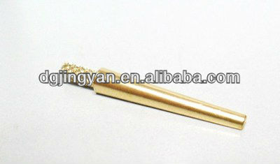 Customized brass threaded dental dowel pins