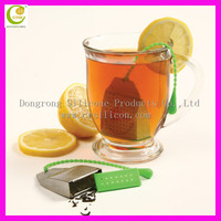 Promotion item non-toxic FDA silicone cheap tea infusers