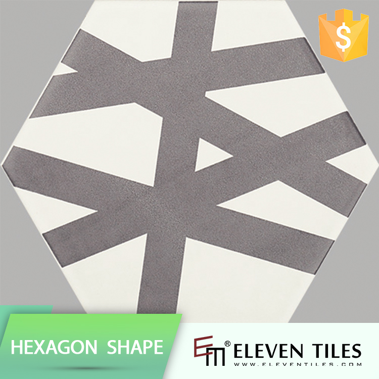 Hot Product Trends High Quality 175X200 Hexagon Glazed Tiles Gujarat