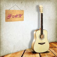 Supply all kinds of round back acoustic guitar with good quality