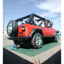 2015 Hot sale inflatable jeep, customized inflatable car