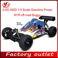 2.4G AWD 1:5 Scale Gasoline Power RTR off-road Buggy 2014 buggy for sale vs traxxas
