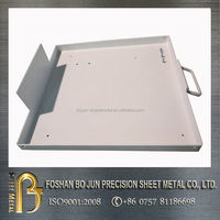 custom sheet metal white painting portable chassis made in chinese manufacturing company