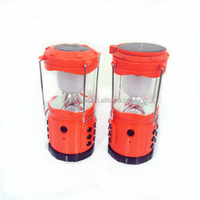 Rechargeable Car Charge water-proof shock resistant durable emergency light solar camping lantern