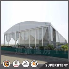 2016 Waterproof tent fabric clear span industrial structures used buildings arcum tent