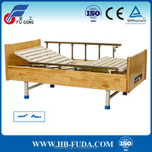 disabled furniture 2 function wooden paralyzed patients bed