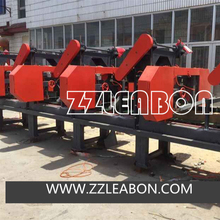 6 Heads Wood Cutting Horizontal Type Band Saw for sale