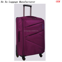 China Luggage Factory OEM Oxford Solid