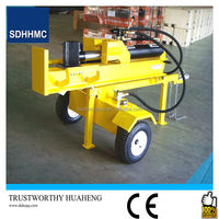 Automatic 42 Ton Hydraulic Wood Splitter For Tractor,CE Certified