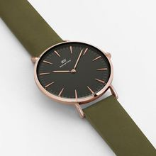 BU enjoy your life Circle All Color Wooden Wristwrist Watch