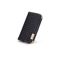 ROCK Weaver Series Wallet Leather Case for Samsung Galaxy S4