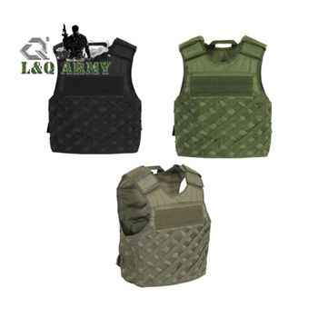 Tactical FAST Vest with Lattice Weave MOLLE Compatible Webbing