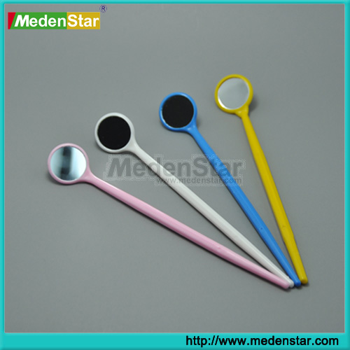 Anti-fog Dental intraoral mirrors/disposable mouth mirror many colours