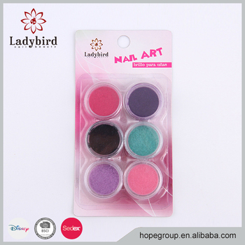Professional Factory wholesale nail decoration velvet powder for nail art