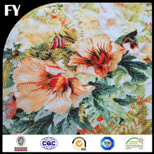 Wholesale digital custom printed polyester abstract fabric designs